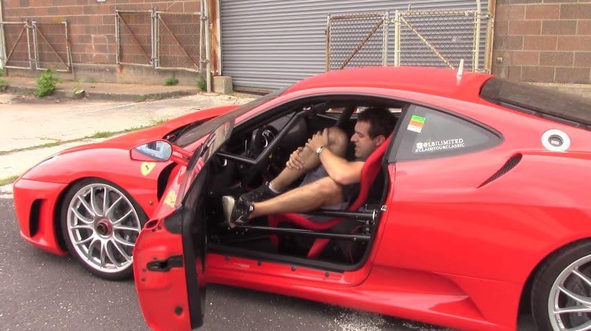 Ferrari F430 Challenge is niet comfortabel op straat