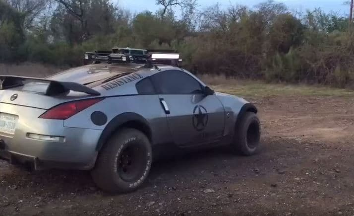 Nissan 350Z off-roader