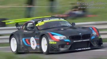 BMW Z4 GT3 Hillclimb