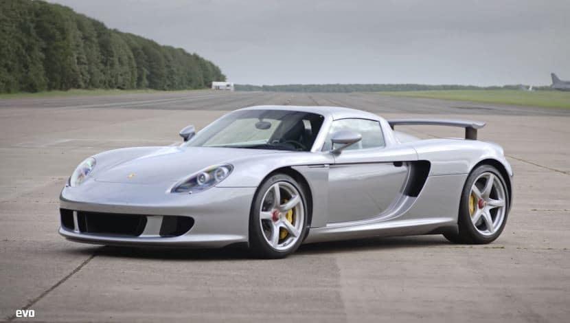 EVO TV test de Porsche Carrera GT