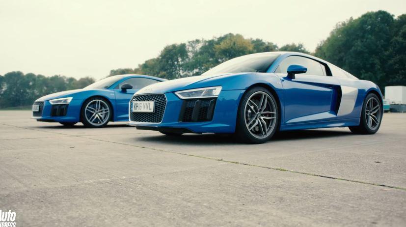 Audi R8 V10 vs R8 V10 Plus