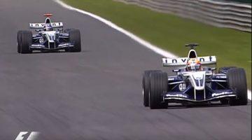 F1 Battle - Montoya vs Pizzonia Spa 2004
