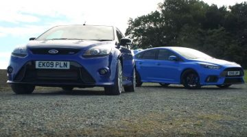 Ford Focus RS Mk2 vs Ford Focus RS Mk3