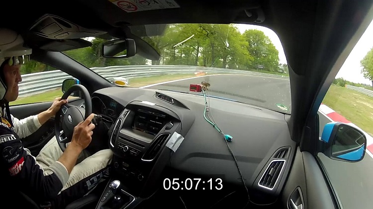 Ford Focus RS Nordschleife Lap