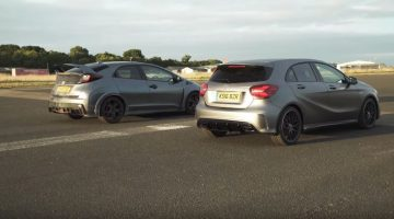 Honda Civic Type R vs Mercedes-AMG A45
