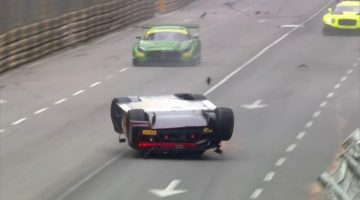 Laurens Vanthoor Crash