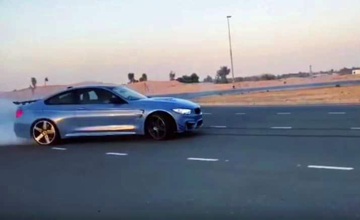 BMW M4 krijgt flink de sporen