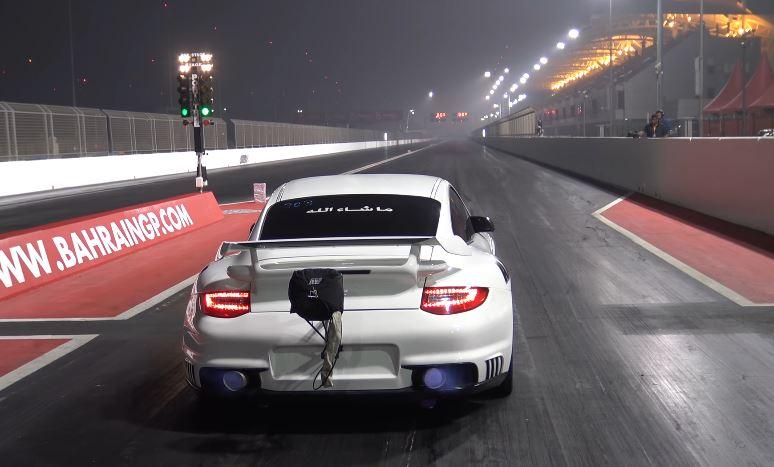 video ekanoo racing 39 s porsche 911 gt2 blaast in 8 seconden over de kwart mijl. Black Bedroom Furniture Sets. Home Design Ideas