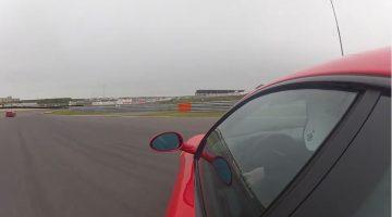 Ferrari 360 bijna afgeschreven Zandvoort