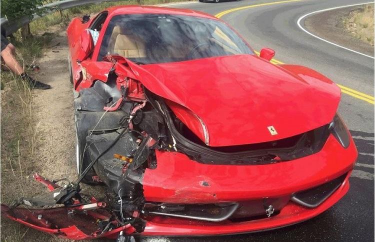 Gehuurde Ferrari 458 Italia