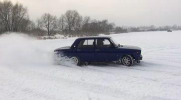 Lada 2105 Winter beater