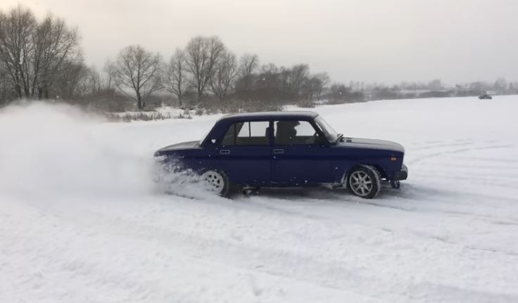 Lada 2105 Winter beater