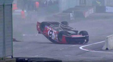 NASCAR Eauro Series Crash