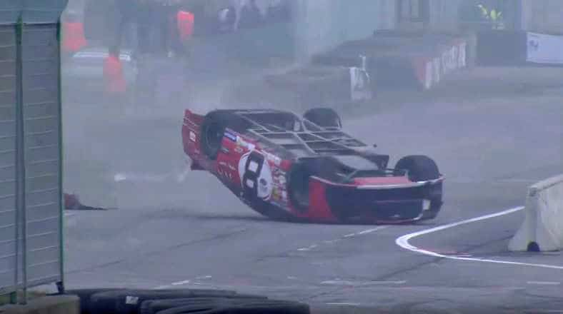 NASCAR Eauro Series Crash