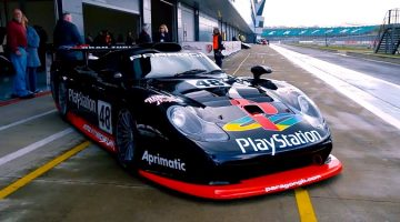 Playstation Porsche 911 GT1