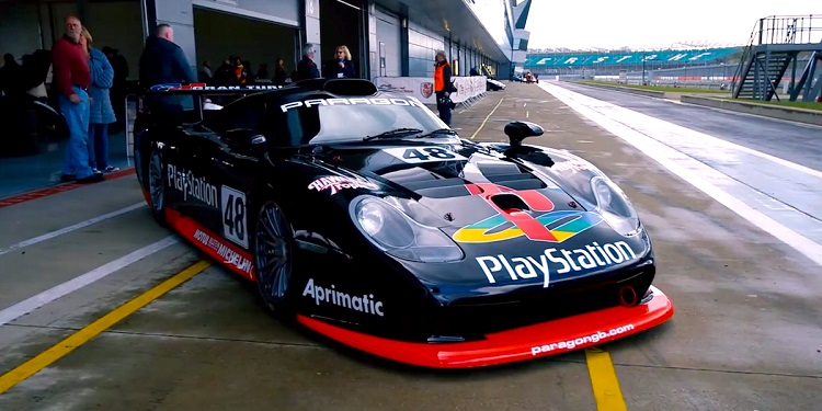 video btcc kampioen test porsche 911 gt1 evo. Black Bedroom Furniture Sets. Home Design Ideas