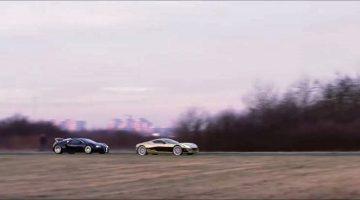 Rimac One vs Bugatti Veyron