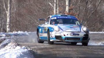 Romain Dumas Porsche 911 R-GT