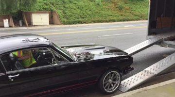 1965 Mustang trailer fail