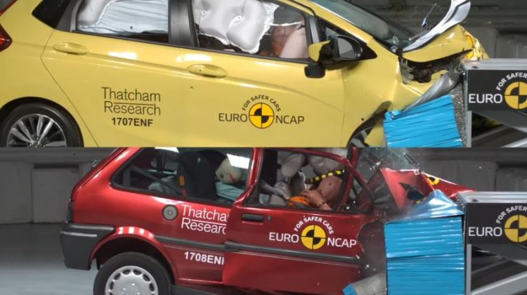 20 jaar EuroNCAP crashtests