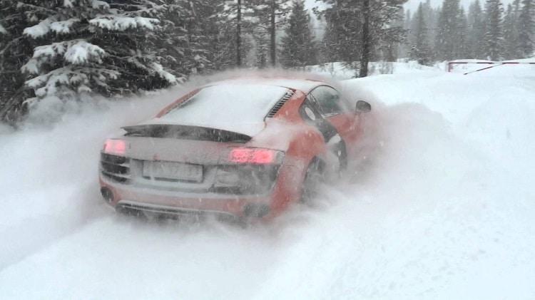 Audi Quattro's zijn koningen in de sneeuw