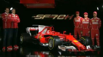 Ferrari SF70H Launch
