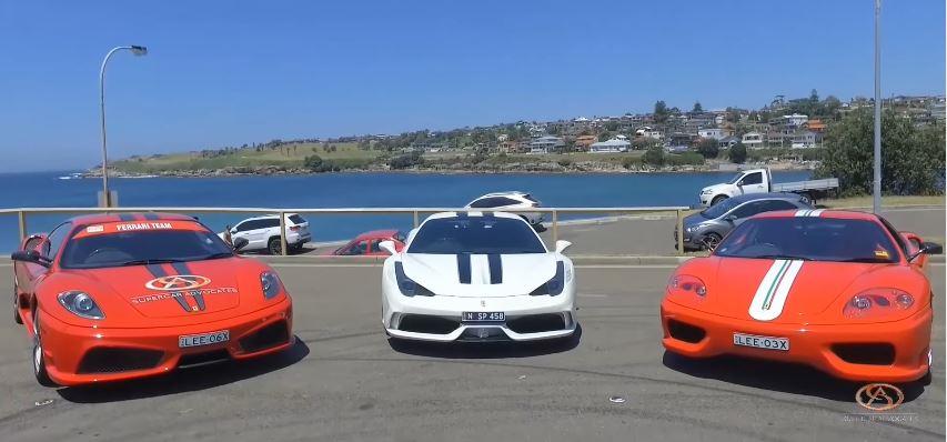 Ferrari Triologie