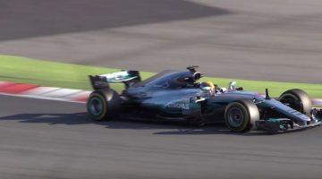 Formule 1 2017 - Highlights Barcelona Testdag 1