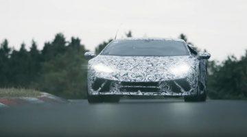 Lamborghini Huracán Performante Nordschleife Lap