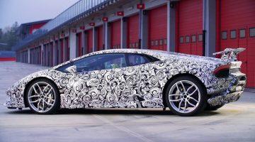 Lamborghini Huracán Performante op Imola