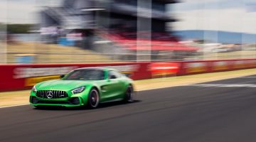 Mercedes AMG GT R Bathurst Lap Record