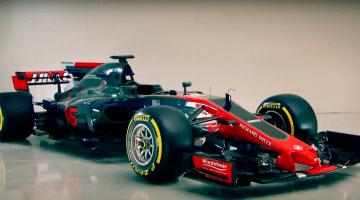 Haas VF17 formule-1