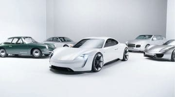5 belangrijkste concept cars van Porsche