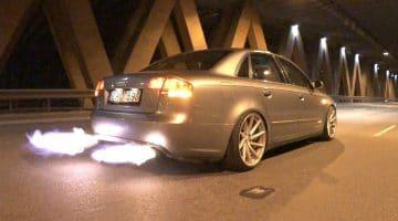 Audi A4 met 2-step