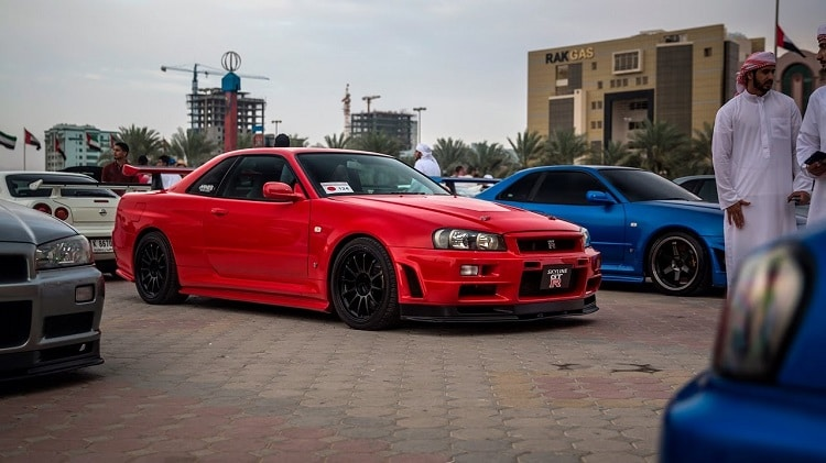 Deze Skyline GT-R meeting is hemel voor fanboys