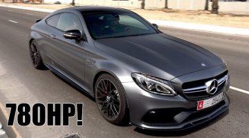 Mercedes-AMG C63 S Edition 1 getuned naar 780 pk 1000 NM