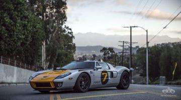 Natuurlijk rijdt de ontwerper van de 2005 Ford GT in een GT