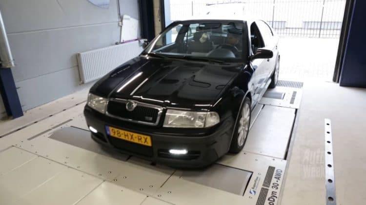 Skoda Octavia RS Rollenbank