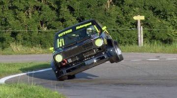Volkswagen Golf op de limiet