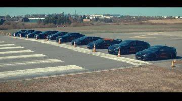 10 Getunede auto's van Levella in een dragrace