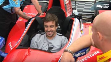 Alonso bezoekt IndyCar Series