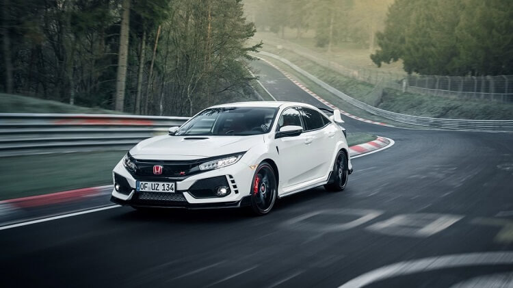 2017 HONDA CIVIC TYPE R NURBURGRING FWD Lap Record