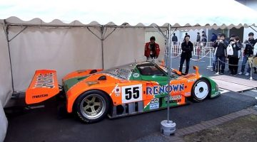 Mazda 787B stationair toerental