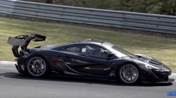 McLaren P1 GTR LM op jacht naar Nordschleife record