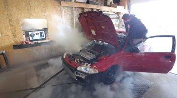 Civic-motor overleefd dyno test niet