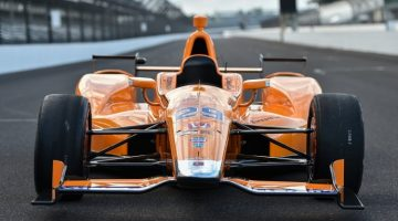 Fernando Alonso Indy 500 test