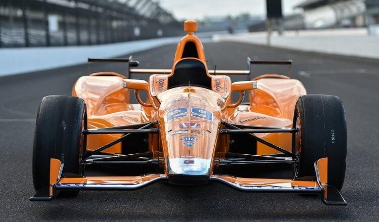 Fernando Alonso Indy 500 test