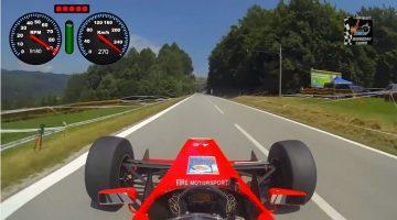 Formule 3000 vol gas hillclimb
