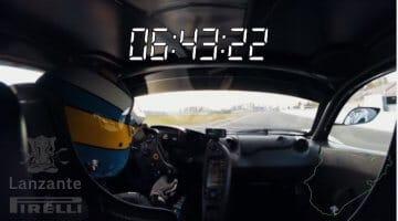 McLaren P1 Nordschleife Lap Record