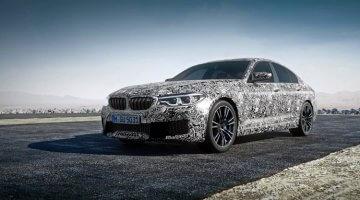 Nieuwe BMW M5